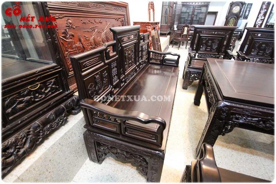 Ghế trường kỷ cổ đồ mang một phong cách rất riêng