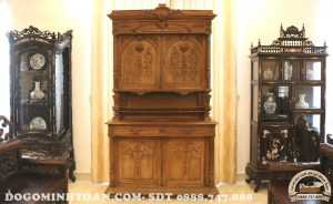 Tủ đồ louis gỗ gụ kiểu Pháp