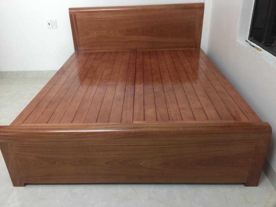 Giường ngủ gỗ dổi